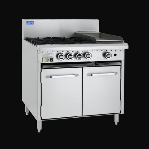 LUUS Essentials Series 4 Burners, 300 Grill & Oven (127 mj)