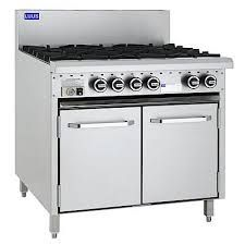 LUUS Essentials CRO 900MM 6 Burner & Oven 153mj NAT/143mj LPG