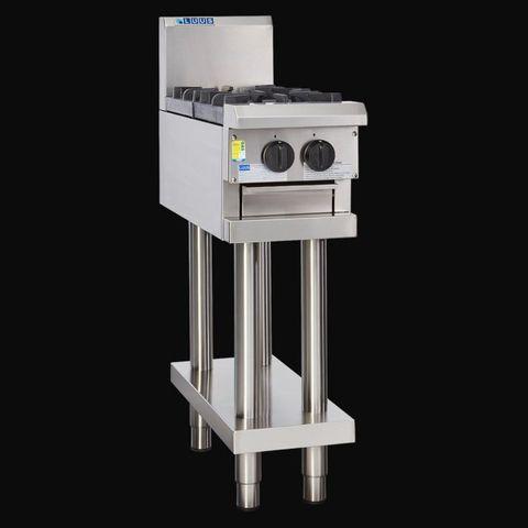 LUUS PROFESSIONAL CS 300MM 2 Burner Cooktop 56mj NAT/56mj LPG