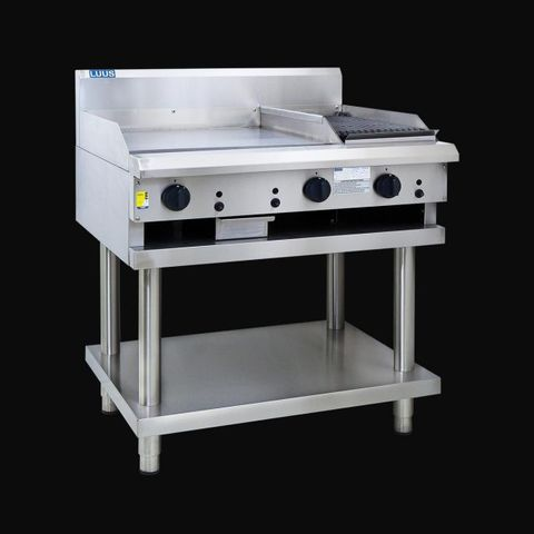 LUUS PROFESSIONAL 300mm Griddle 300mm Chargrill 51mj NAT/51mj LPG