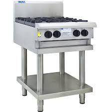 LUUS PROFESSIONAL CS 600MM 4 Burner Cooktop 112mj NAT/112mj LPG