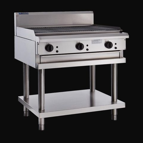 LUUS Professional CS 900MM CHARGRILLS 99mj NAT/99mj LPG
