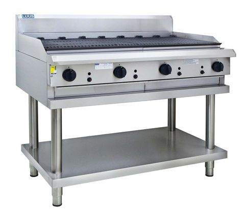 LUUS PROFESSIONAL CS 1200MM CHARGRILLS 132mj NAT/132mj LPG