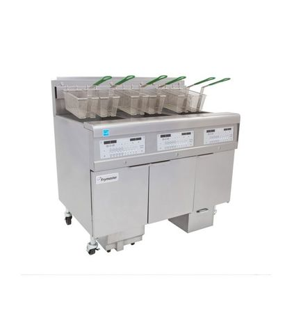 Frymaster Commercial Deep Fryer W/ In-Built Filter - Natural Gas - Filterquick 3 X 15L