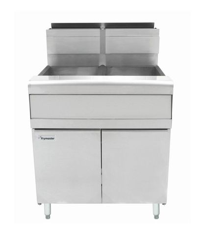 Frymaster Commercial Deep Fryer W/ In-Built Filter - Natural Gas - Filterquick 2 X 25L