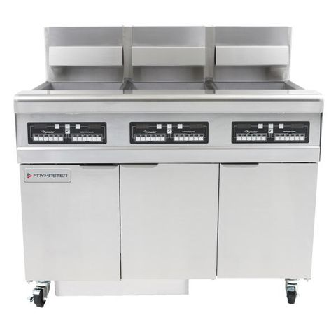 Frymaster Commercial Deep Fryer W/ In-Built Filter - Natural Gas - Filterquick 3 X 25L