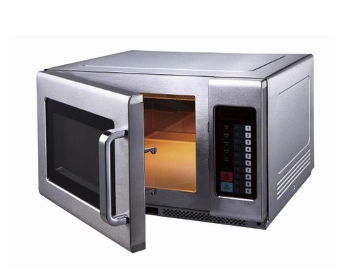 Birko Commercial Microwave 1100W W/ Shelf - 34L