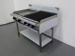 LUUS ESSENTIALS BCH 1200MM 600mm Griddle 600mm Chargrill 109mj NAT/109mj LPG