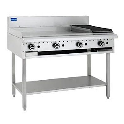 LUUS ESSENTIALS BCH 1200MM 900mm Griddle 300mm Chargrill 83mj NAT/83mj LPG