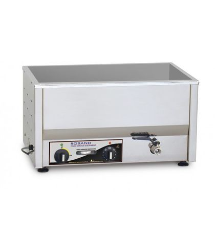 Roband BM2 - Counter Top Bain Marie - Wide 2 X 1/2 Size Pans Thermostat Control (pans not included)