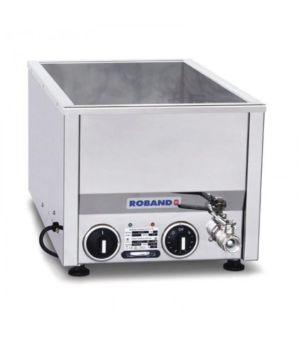 Roband BM21 - Counter Top Bain Marie fits Narrow 2 X 1/2 Size Pans (pans not included)