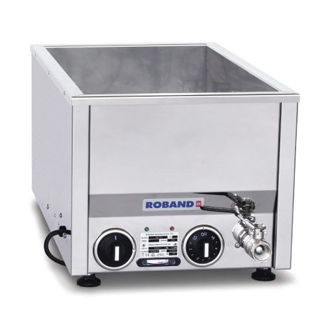 Roband Counter Top Bain Marie BM21 with Thermostat Control (pans not included)