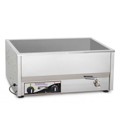 Roband BM4 - Counter Top Bain Maries - 4 X 1/2 Size Pan Thermotat Control (pans not included)