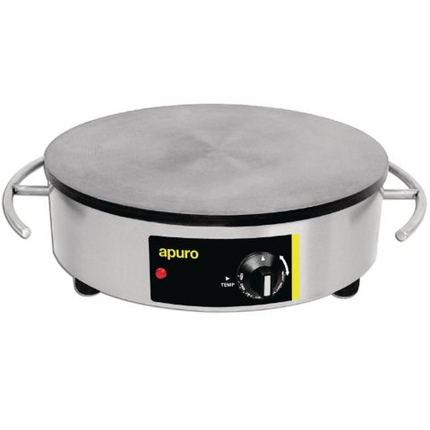 Apuro Electric Crepe Maker 2.9kW Stainless steel