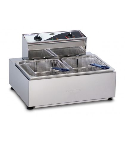 Roband F111 - Single Pan/ Double Basket Fryer - 11L