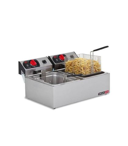 Anvil Axis Electric Deep Fat Fryer 2x2.4kW - Double Pan