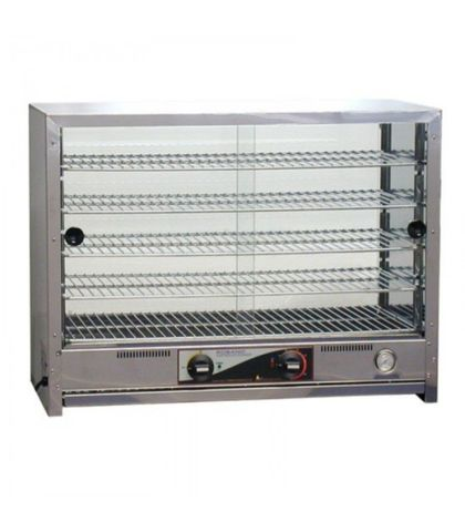 Roband PA100/G - Pie And Food Warmer W/ Square Top - 100 Pies Doors both sides