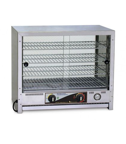 Roband PA80L - Pie And Food Warmer W/ Square Top - 80 Pies W/ Internal Light