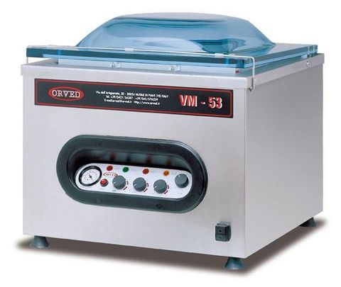 ORVED Chamber Vacuum Sealer – Commercial use with VBP regular bags VBS cooking bags