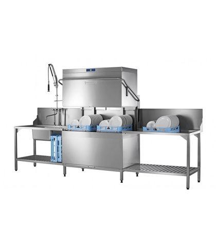 HOBART PROFI AMXT HOOD TYPE Twin rack dishwasher