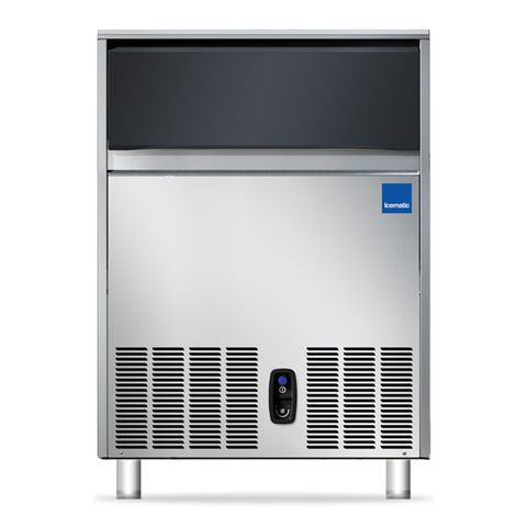 ICEMATIC SELF CONTAINED ICE MACHINE 90kg per 24/hr42kg storage bin