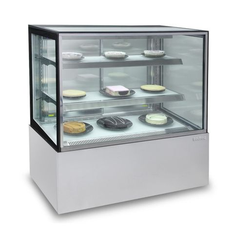 Bromic Stainless Steel Cold Food Display - 900Wx700Dx1300H