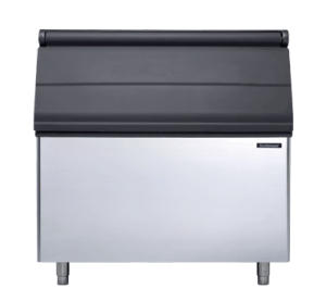 Storage bin complete with drain hose and 1x ice scoop 406kg Capacity to suit ICEMATIC ICE MAKERS