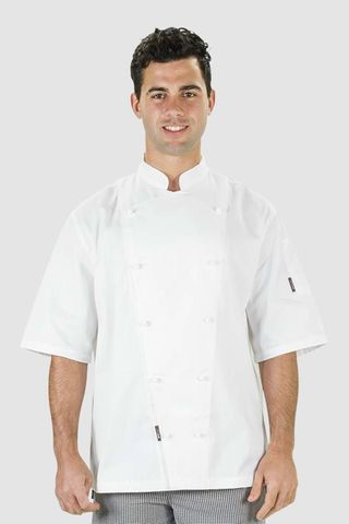 Traditional Chef Jacket White Short Sleeve