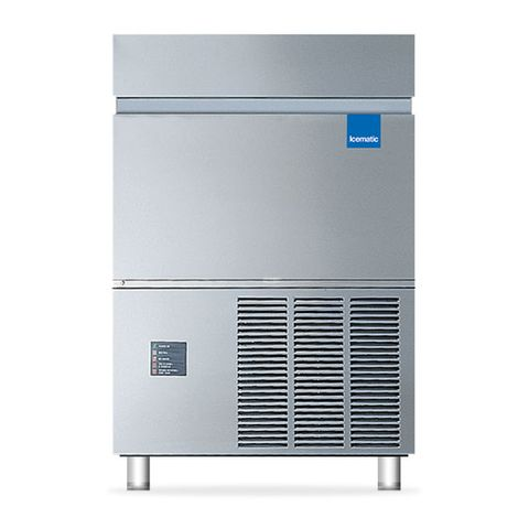 ICEMATIC SELF CONTAINED FLAKE ICE MACHINE 120kg production per 24/hr 27kg storage bin