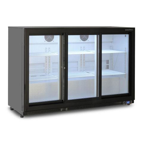 BROMIC Back Bar Display Chiller 307L (Sliding Door)