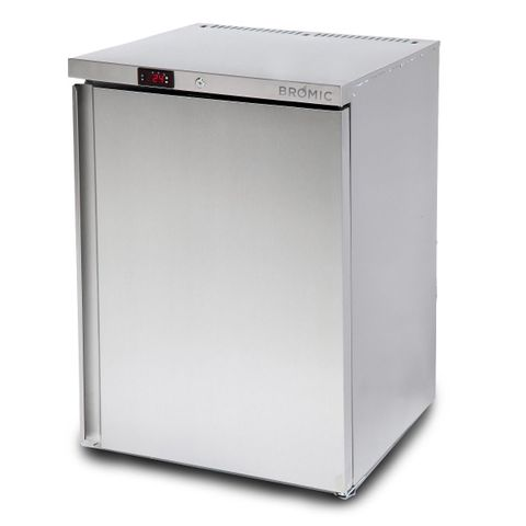 BROMIC Underbench Storage Chiller 145L Single Door Stainless Steel