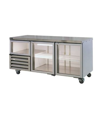 Anvil Aire Glass Doors Back Bar 0.8kW - 1.8m 535Lt