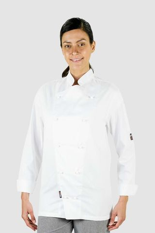 Traditional Chef Jacket White Long Sleeve