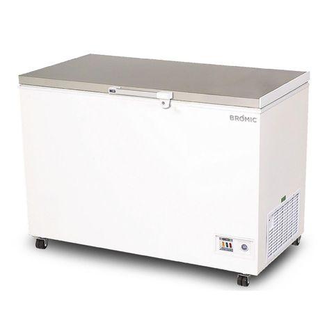BROMIC Flat Top Stainless Steel 296L Storage Chest Freezer