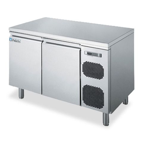 POLARIS 261L TWO DOOR REFRIGERATED COUNTER CABINET