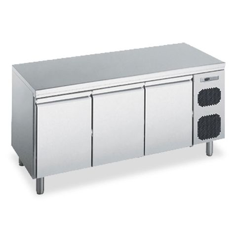 POLARIS 406L THREE DOOR REFRIGERATED COUNTER CABINET