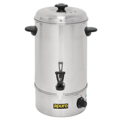 Apuro Manual Fill Hot Water Urn 10Ltr