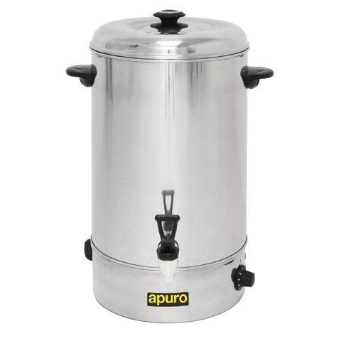 Apuro Manual Fill Hot Water Urn 20Ltr