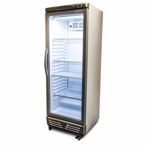 BROMIC LED ECO Flat Glass Door 290L Upright Display Chiller