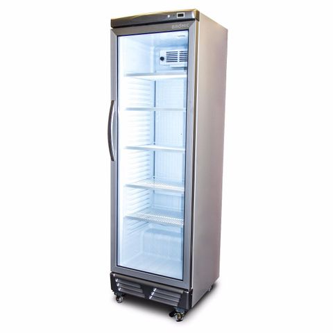 BROMIC LED ECO Flat Glass Door 372L Upright Display Chiller