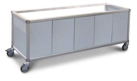 ROBAND Panels to suit ET22 Trolley Stainless Steel