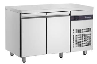 Inomak Ultra Slim 2 Door Underbench Chiller - 600mm Deep