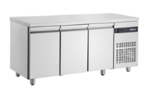 Inomak Ultra Slim 3 Door Underbench Chiller - 600mm Deep