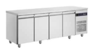 Inomak Ultra Slim 4 Door Underbench Chiller - 600mm Deep
