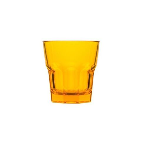 Polycarbonate Rock Tumbler 240ml Yellow