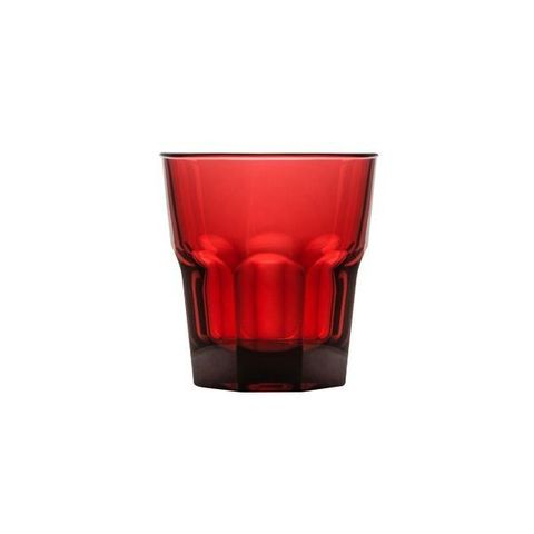 Polycarbonate Rock Tumbler 240ml Red