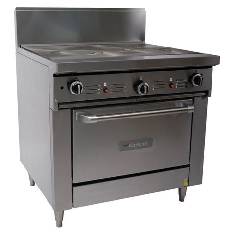 Garland Restaurant Range 900mm Dual Target Top w Convection Oven Nat Gas