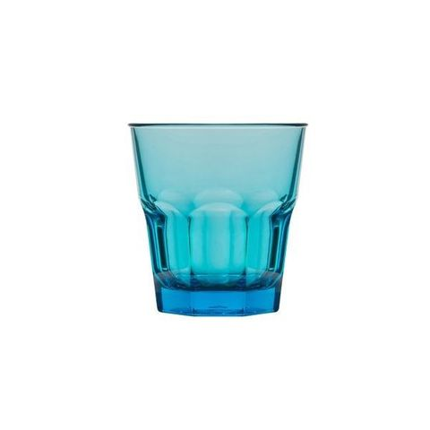 Polycarbonate Rock Tumbler 240ml Aqua