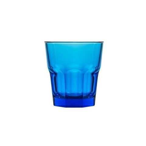 Polycarbonate Rock Tumbler 240ml Blue