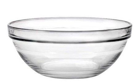 Duralex lys-stackable bowl 260mm/3.40l (2029a) 6/set